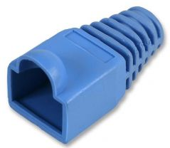 PRO POWER SH001 5 BLUE  Strain Relief Boot 5Mm Blue 10/Pack